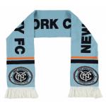 ผ้าพันคอที่ระลึกแมนเชสเตอร์ ซิตี้ของแท้ New York City FC Scarf - Sky - Adult