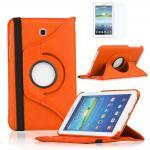 เคส Samsung Galaxy Note 8 Rotary หมุนได้ 360 สีส้ม