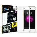 ฟิล์มกระจกนิรภัย เต็มจอ !!!!! Focus For OPPO F5 สีขาว
