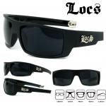 Locs Matte Black 91025 : Locs Hard Core Shades