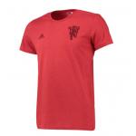 เสื้อทีเชิ้ตอดิดาสแมนเชสเตอร์ ยูไนเต็ด เดวิลกราฟฟิกทีเชิ้ตสีแดงของแท้