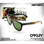 Oakley Alpha Decay Frogskins Matte Black Sunglasses รหัสรุ่น : SKU# 24-401