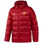 เสื้อแจ็คเก็ตแมนเชสเตอร์ ยูไนเต็ด Down Jacket สีแดงของแท้