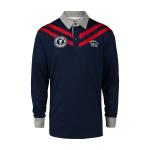 เสื้อโปโลลิเวอร์พูล ของแท้ 100% Liverpool FC Mens Westhead Long Sleeve Polo Shirt