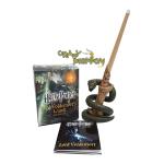 Voldemort wand + sticker book (เปิด-ปิดไฟได้)