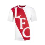 เสื้อทีเชิ้ตลิเวอร์พูลของแท้ Liverpool FC Mens White Fan Tee