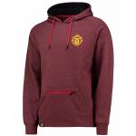 เสื้อฮู้ดแมนเชสเตอร์ ยูไนเต็ด Manchester United Essential Hoodie Burgundy Marl ของแท้