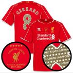 เสื้อลิเวอร์พูลสตีเว่น เจอร์ราร์ด Liverpool Home Gerrard Legend Shirt 2014 2015 ของแท้ 100% Size M