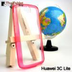 เคสครอบหลัง Huawei 3C Lite สีชมพู