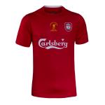 เสื้อลิเวอร์พูลย้อนยุคของแท้ Liverpool fc Retro Istanbul 05 Shirt