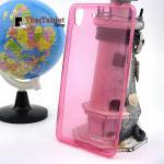 เคส TPU ครอบหลังลายการ์ตูน OPPO R7 / R7 Lite สีชมพู