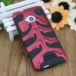 Case HICASE for HTC One (M7) (แดง+ดำ)