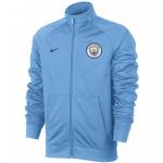 เสื้อแจ็คเก็ตแมนเชสเตอร์ ซิตี้ สีฟ้า Manchester City Core Track Jacket