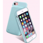 WUW Power Bank เคส iPhone 6 Plus/ 6s Plus / 7 Plus สีฟ้า