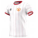 เสื้ออดิดาสแมนเชสเตอร์ ยูไนเต็ด Originals Pinstripe T-Shirt ของแท้