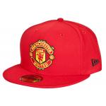 หมวกแมนเชสเตอร์ ยูไนเต็ดของแท้ New Era 59FIFTY Fitted Cap - Red - Adult สีแดง