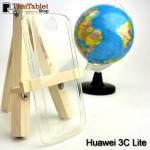 เคสครอบหลัง Huawei 3C Lite สีขาวใส