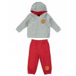 เสื้อผ้าแมนเชสเตอร์ ยูไนเต็ดของแท้ สำหรับเด็กเล็ก Manchester United Fleece Jog Suit