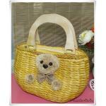 กระเป๋าสาน หมี