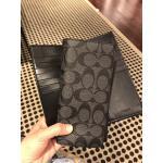 กระเป๋าสตางค์ผู้ชาย COACH MEN'S SIGNATURE BREAST POCKET WALLET F75013 : BLACK