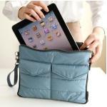 Gadget Pouch เคสใส่โน้ตบุค/Ipad สีฟ้า