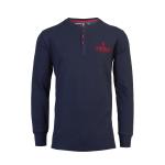 เสื้อทีเชิ้ตลิเวอร์พูล Liverpool fc Mens Long Sleeve Navy Paneka Tee ของแท้ 100%
