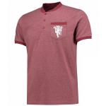 เสื้อทีเชิ้ตแมนเชสเตอร์ ยูไนเต็ด Lifestyle Pocket T-Shirt สีแดงของแท้