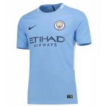เสื้อแมนเชสเตอร์ ซิตี้ 2016 2017 ทีมเหย้า เวอร์ชั่นนักเตะของแท้ Manchester City Home Vapor Match Shirt 2017-18