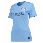 เสื้อแมนเชสเตอร์ ซิตี้ 2017 2018 ทีมเหย้าสำหรับผู้หญิงของแท้ Manchester City Home Stadium Shirt 2017-18 - Womens