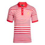 เสื้อโปโลลิเวอร์พูล ของแท้ 100% Liverpool FC Mens Red Echo Stripe Polo Shirt