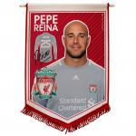 ธง ลิเวอร์พูล ของแท้ 100% Reina Pennant ธง Liverpool ที่ระลึกแชมป์คาลิ่งคัพ เหมาะสำหรับเป็นของฝาก สะสม เป็นที่ระลึก ของขวัญ แด่คนสำคัญ
