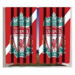 ม่าน ที่ระลึก ลิเวอร์พูล Stripe Crest 72 Curtains สำหรับใช้ภายในบ้าน พร้อมโลโก้ Liverpool สวยงาม จะติดเป็นม่านหน้าต่างห้องนอน ยิ่งเริ่ดหรู