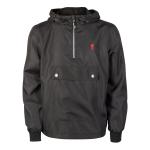 เสื้อแจ็คเก็ตลิเวอร์พูลของแท้ Liverpool FC Mens Black Premier Jacket