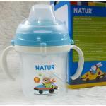 แก้วหัดดื่ม Natur - สีฟ้า
