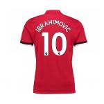 เสื้อแมนเชสเตอร์ ยูไนเต็ด 2017 2018 ทีมเหย้า พิมพ์ชื่อ Ibrahimovic 10 ของแท้