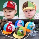 หมวกแก็ปเด็กอ่อน ลายผึ้งน้อยน่ารัก วัย 6 - 24 เดือน