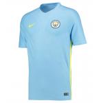 เสื้อเทรนนิ่งแมนเชสเตอร์ ซิตี้ 2016 2017 สีฟ้าของแท้