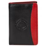 กระเป๋าสตางค์แมนเชสเตอร์ ยูไนเต็ดของแท้ Manchester United Leather Tri Fold Wallet