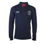 เสื้อโปโลลิเวอร์พูล ของแท้ 100% Liverpool FC Mens Elsie Long Sleeve Polo Shirt
