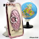 เคสครอบหลัง Hiso For iPhone 6/6S 4.7 นิ้ว สีชมพู