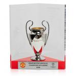 ถ้วยรางวัลแมนเชสเตอร์ ยูไนเต็ดที่ระลึกฉลองแชมป์ 2008 Past Winners Champions of Europe