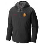 เสื้อแจ็คเก็ตแมนเชสเตอร์ ยูไนเต็ด Columbia Dutch Hollow Hybrid Jacket สีดำของแท้