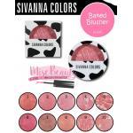 ปัดแก้มลายวัว ซิวานนา Sivanna Baked Blusher HF341