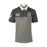 เสื้อโปโลลิเวอร์พูล ของแท้ 100% Liverpool FC Mens Grey Fixture Polo Shirt
