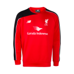เสื้อเทรนนิ่งลิเวอร์พูลของแท้ 2015-2016 Liverpool Mens Red Player Training Sweat 15/16