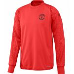 เสื้ออดิดาสแมนเชสเตอร์ ยูไนเต็ด เสื้อคัพเทรนนิ่งท๊อปสีแดงของแท้