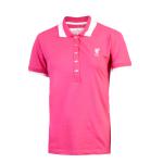 เสื้อโปโลลิเวอร์พูล ลิเบอร์ติ้โปโลชมพู สำหรับผู้หญิง ของแท้ 100% Liverpool FC Ladies Pink Liberty Polo