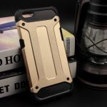Rugged Hybrid Dual Layer Armor Case Cover For For OPPO R9s สีทอง