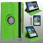 เคส Samsung Galaxy Tab2 10.1 Rotary หมุนได้ 360 สีเขียว