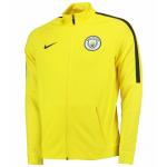 เสื้อแจ็คเก็ตแมนเชสเตอร์ ซิตี้ของแท้ Manchester City Strike Track Jacket Yellow